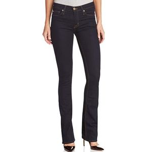 Hudson Midrise Elle Baby Boot Jeans